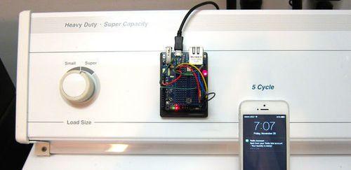 Laundry monitor prototype