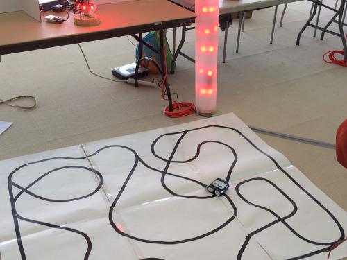 Snapshot from Arduino Day