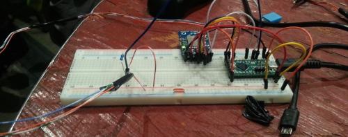 Stove monitor prototype