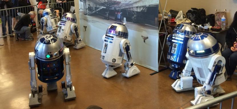 Maker Faire R2-D2