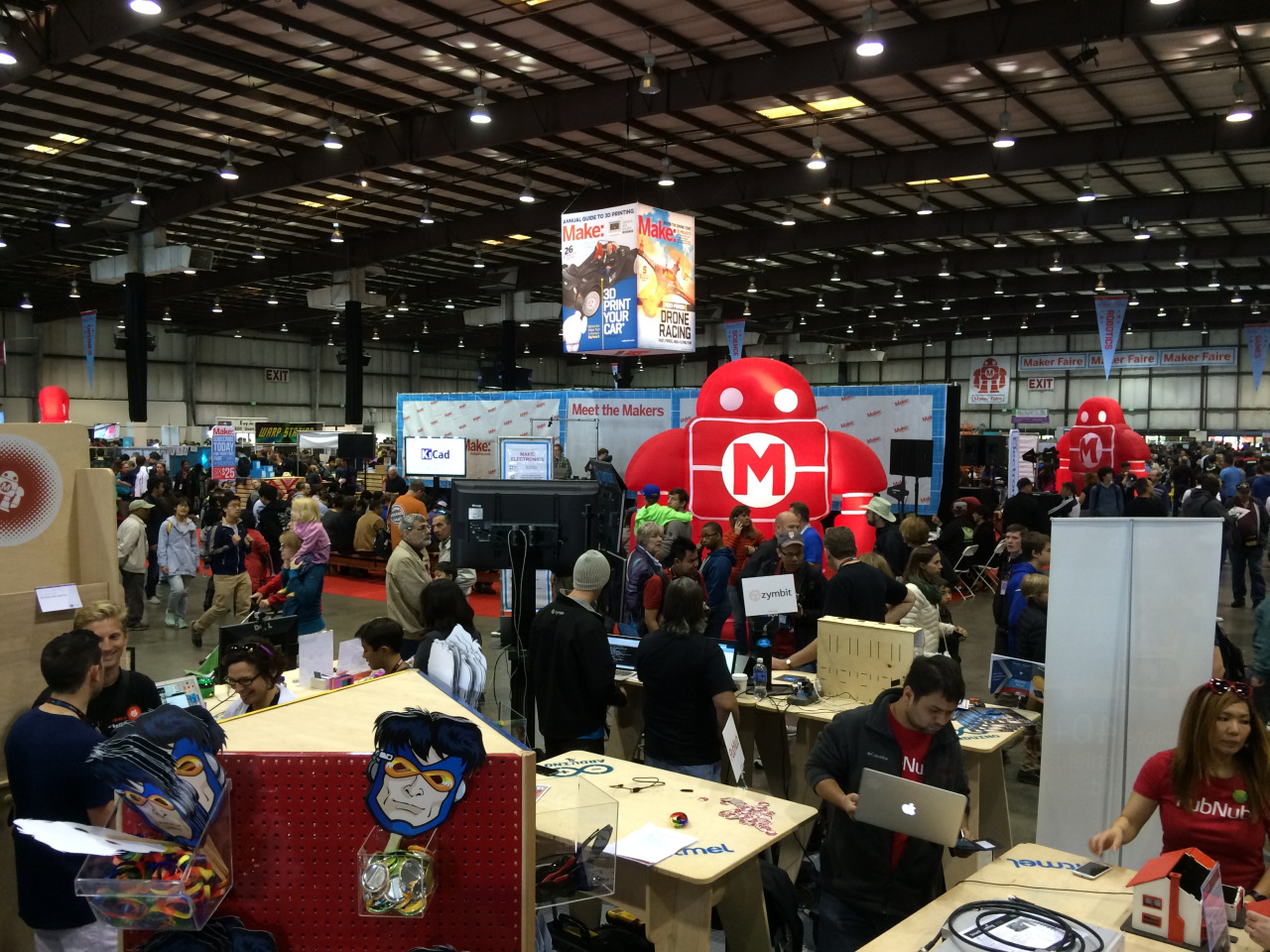 Maker Faire Exhibition Hall