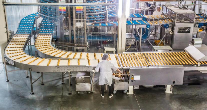 bakery production line