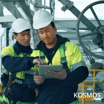 Two Engineers Using Kosmos